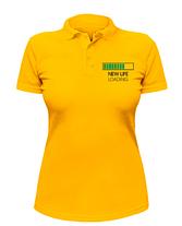 Женская футболка-поло New Life loading, фото 2