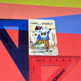 Магниты виниловые для арт-пикника. Размер 70х45 мм 5