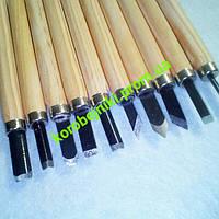 Набор стамесок для работ по дереву 10в1. набор ножей по дереву. ножи, стамески Харьков опт
