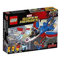 LEGO Super Heroes Captain America Лего Супер Герои Оригинал Воздушная погоня Капитана Америка  76076