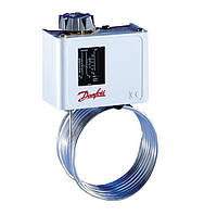 Капиллярный термостат KP61 Danfoss, капилляр 2 м, фото 1
