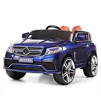 Детский электромобиль Mercedes M 3103 EBLRS-4: 2.4G, кожа, EVA - СИНИЙ (ПОКРАСКА) - купить оптом , фото 1