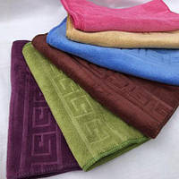 """Кухонные полотенца микрофибра """"Версаче"""" размер 25*50 см (в уп. 20 шт) 833"""