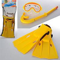 Набор для плаванияIntex 55954, маска, трубка, ласты (размерS, рег.ремешок), 3- 8 лет