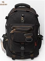 Рюкзак GOLD BE 703 три расцветки Чёрный
