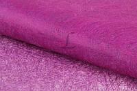 """(Цена за 20шт) Флизелиновая бумага """"Amsonia"""" для декора, розовая, длина 70см, ширина 50см, Бумага для упаковки подарков, Бумага для рукоделия"""