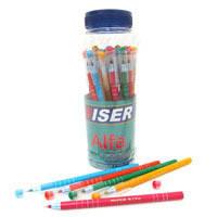 """Ручка масл. Wiser """"Alfa"""" 0,6мм банка/30шт, корпус mix, синяя"""