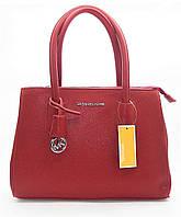 Превосходная женская сумочка MK бордового цвета IIL-401210, фото 1