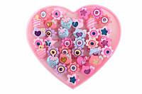 Набор детских колец Ercilla (разные цвета) в виде цветочков, животных, фруктов, яркая бижутерия для детей, колечки для девочек, детская бижутерия,