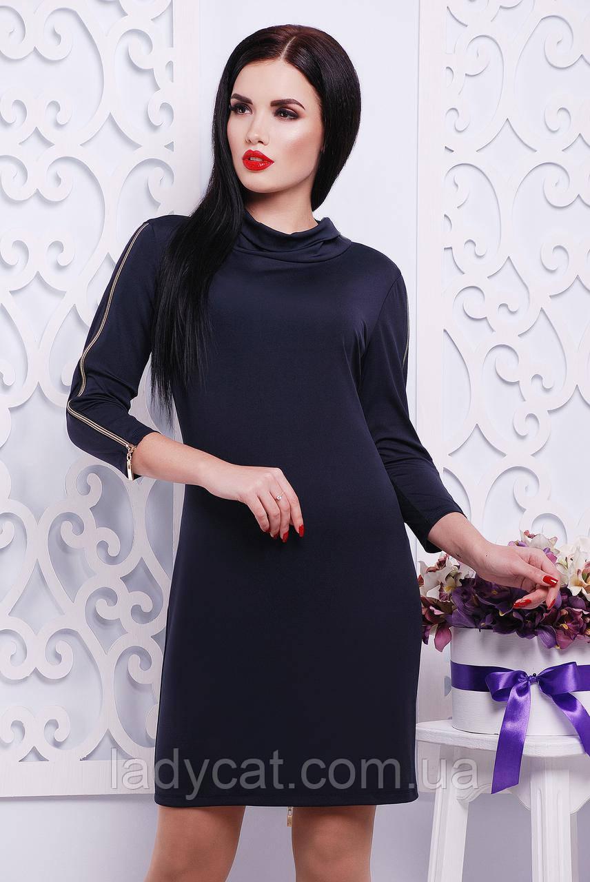 """Платье """"Нина""""темно-синий"""