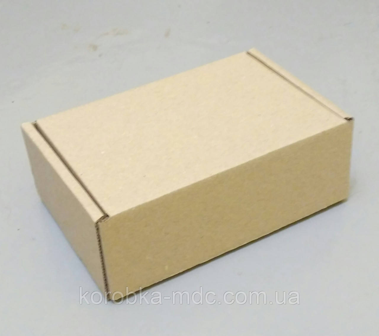Коробка бурая 150х150х24 самосборная с замком