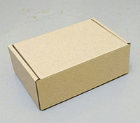 Коробка бурая 150х100х57 самосборная (шкатулка), фото 1