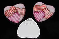 (Цена за 50шт) Серединки акриловые Kniphofia, размер 2,5 см, материал акрил, форма сердечко, для одежды, акриловые бусины, товары для рукоделия,