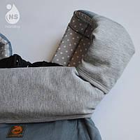 Комплект аксессуаров для эрго-рюкзака накладки + нагрудник, фото 1