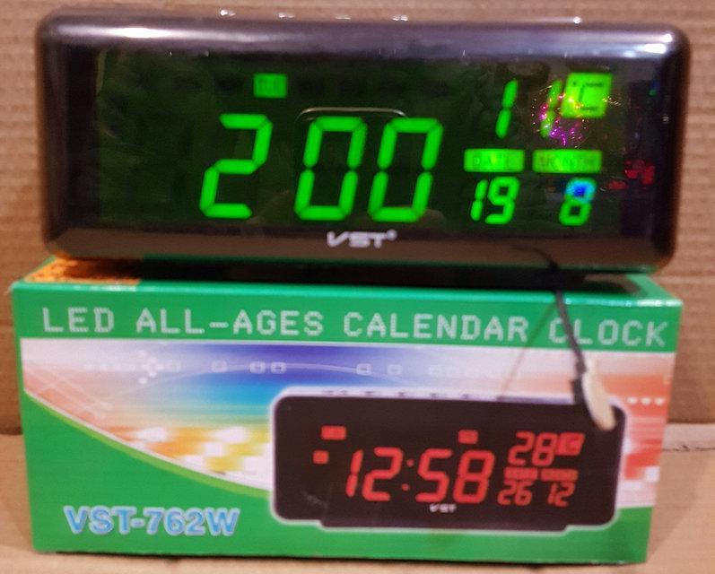 f741bd637588 Настольные Электронные LED Часы VST-762W — в Категории