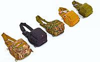 Рюкзак тактический патрульный однолямочный V-20л (PL, NY, р-р 25х23х10см, цвета в ассорт.)