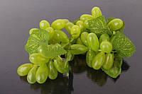 Виноград декоративный Green, пластик, зеленый, гроздь, декор для дома, Искусственные фрукты для декора