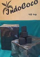 Уголь кокосовый 1кг (96 кубиков) IndoCoco без коробки