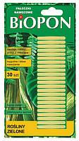 Удобрение в палочках для зеленых растений Биопон, 30 шт