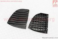 Накладка резиновая комплект  Viper 10,5 для гироборда