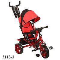 Детский трёхколёсный велосипед Турбо Трайк 3113 колёса пена