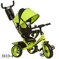 Трёхколёсный велосипед Турбо Трайк 3113 детский колёса пена