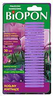 Удобрение в палочках для цветущих растений Биопон, 30 шт