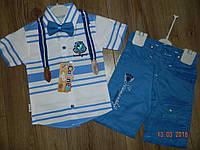 Летние нарядные костюмы для мальчиков на 1,2,3,4 года