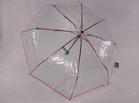 Прозрачный зонт-автомат три сложения № 333 от MARIO