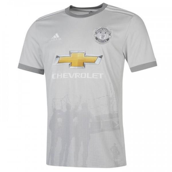Детская футбольная форма Манчестер Юнайтед серая сезон 2017-2018