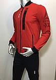 Мужской спортивный костюм Reebok из трикотажа копия, фото 4