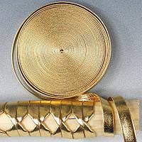 Цукамаки (оплетка рукояти) золотой