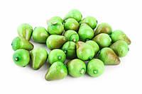 Декоративные груша Pear, форма овал, цвет зеленый, пенопласт, для дома, Искусственные фрукты для декора