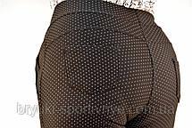 Брюки женские в горошек  большие размеры, фото 3