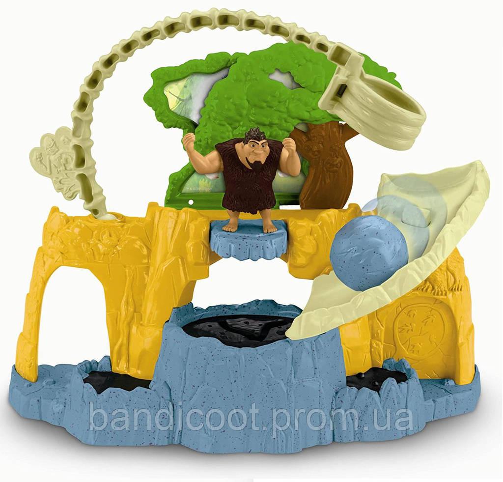 Набор Смоляная яма Семейка Крудс Fisher-Price DreamWorks The Croods: Tar Pit Playset