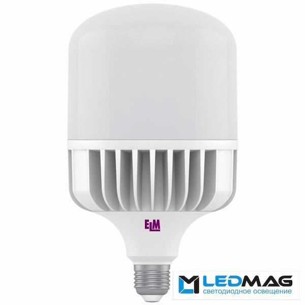 Высокомощная светодиодная  LED лампа ELM 48Вт PA10 TOR Е27 Холодный белый 6500К промышленная