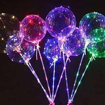 """Светодиодный воздушный шар на палочке """"BoBo"""", фото 3"""