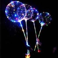 Светодиодный воздушный шар на палочке