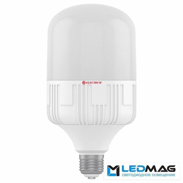 Высокомощная светодиодная LED лампа ELECTRUM 50Вт PAR PA LP-50 Е40 промышленная е40 Холодный белый 6500К