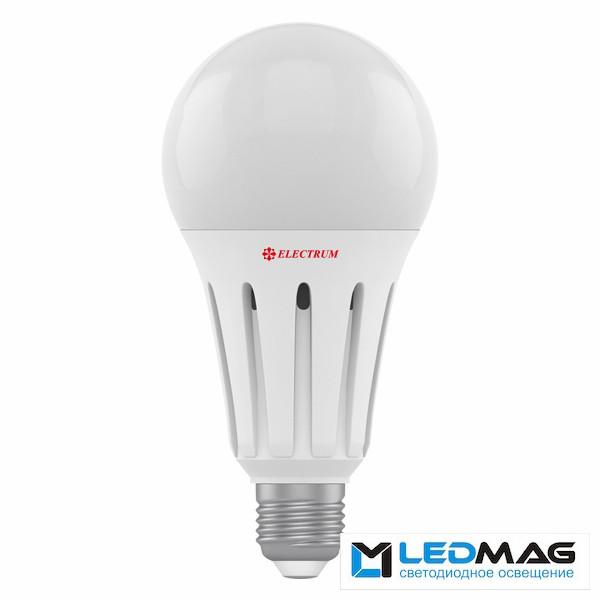 Светодиодная мощная LED лампа ELECTRUM 24Вт А80 PA LS-42 Е27 Нейтральный белый 4000К промышленная