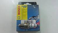 Свеча зажигания Bosch Super Plus WR7DC  ДЕО Ланос, Шевроле АВЕО 1.5 под газ - производства Китая, фото 1