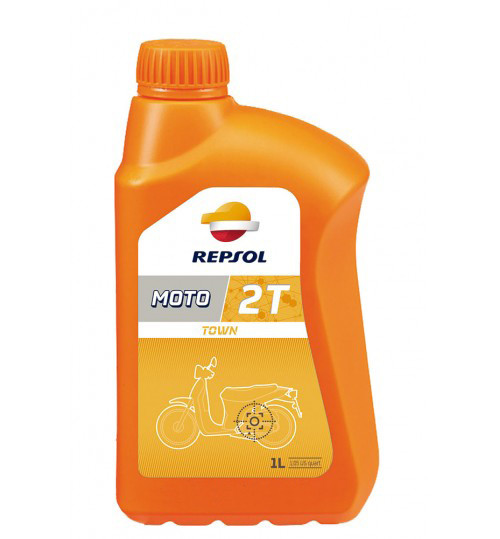 Моторне масло Repsol Moto Town 2T (1л)