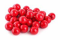 (Цена за 250шт) Яблоко Red, пенопласт, форма круглая, красное, искусственные фрукты для декора, фрукты для скрапбукинга