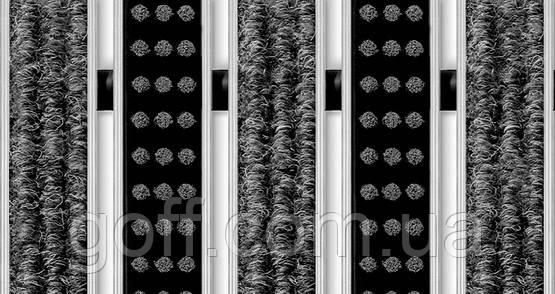 Коврик грязезащитный  щетка + текстиль 100 х 120 см