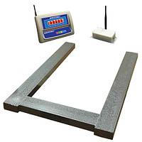 Весы паллетные беспроводные ВПД-П-РК до 300 кг