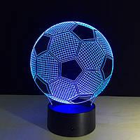 3D Светильник Футбол.