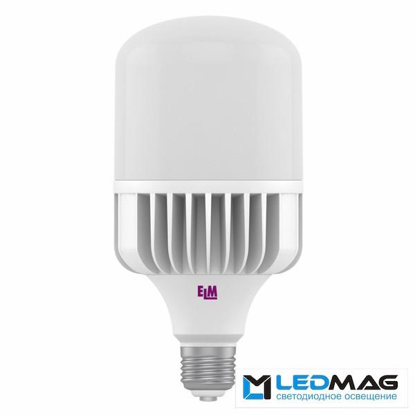 Светодиодная мощная LED лампа ELM 70Вт PA10 TOR Е40 Холодный белый 6500К промышленная