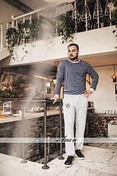 Стильный мужской костюм двойка кофта и брюки