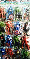 """Игрушка мульт-герои """"Avengers"""" (лист 16шт)"""