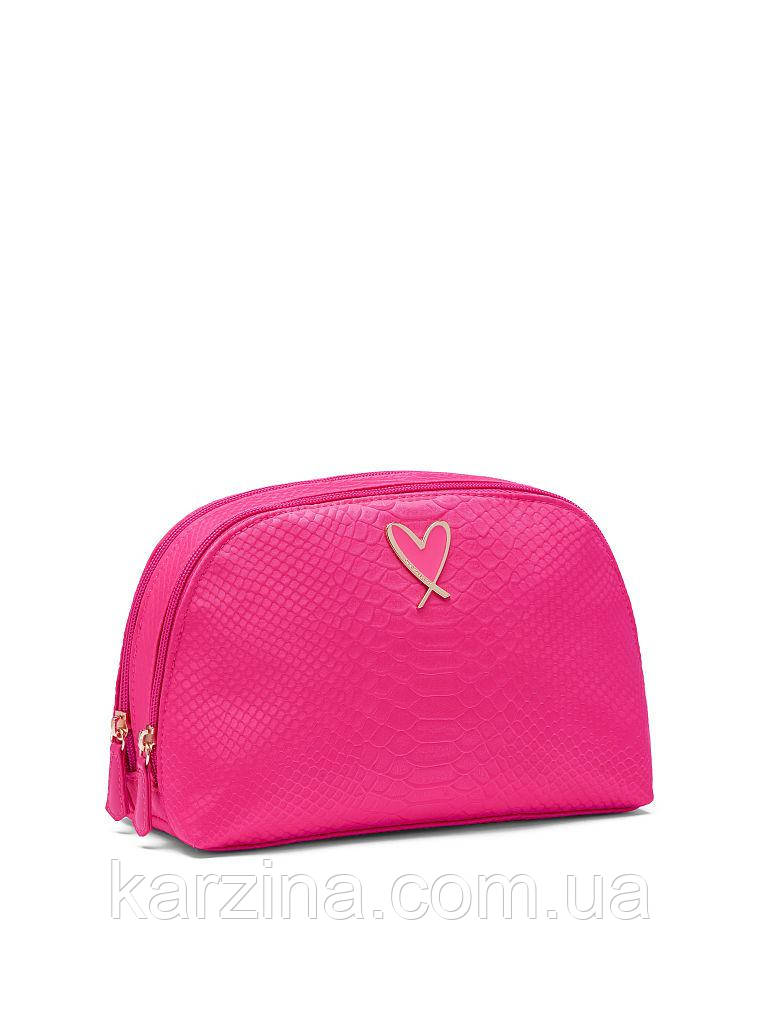 Косметичка большая 16х16х9 Victoria's Secret Python Glam Bag